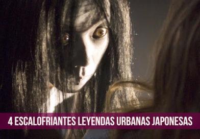 4 Escalofriantes leyendas urbanas Japonesas