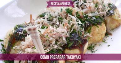 Receta Japonesa: Como preparar Takoyaki