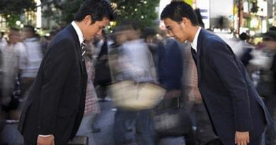 10 razones por las que se debe hacer una reverencia en Japón