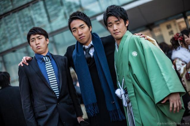 jóvenes japoneses