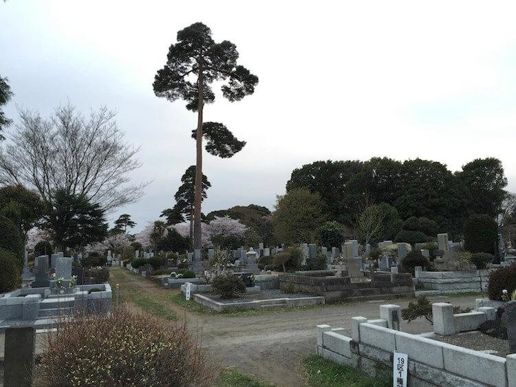Cementerios en Japón