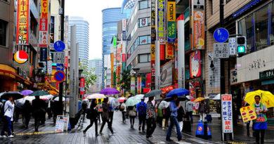 Tokio pasa por el mayor periodo de días consecutivos de lluvias desde 1977