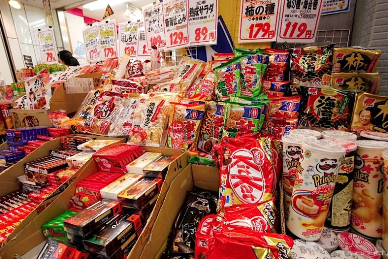 14 Snacks famosos en Japón - Japón And More