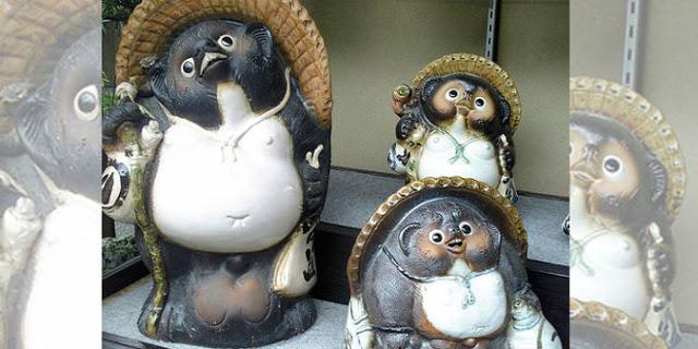 Objetos de la suerte en Japón