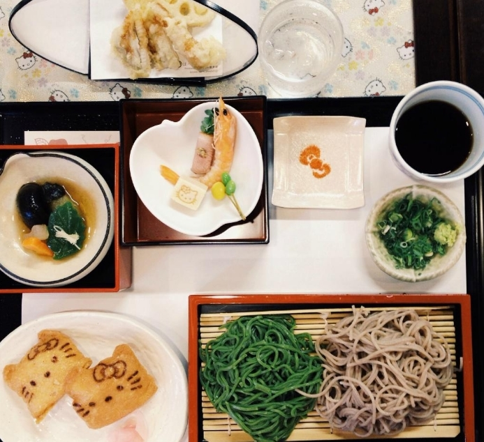 Comida tradicional japonesa.