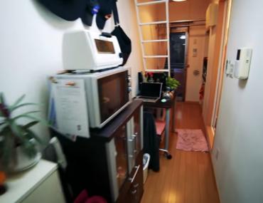 apartamento de 8 metros cuadrados en Tokio