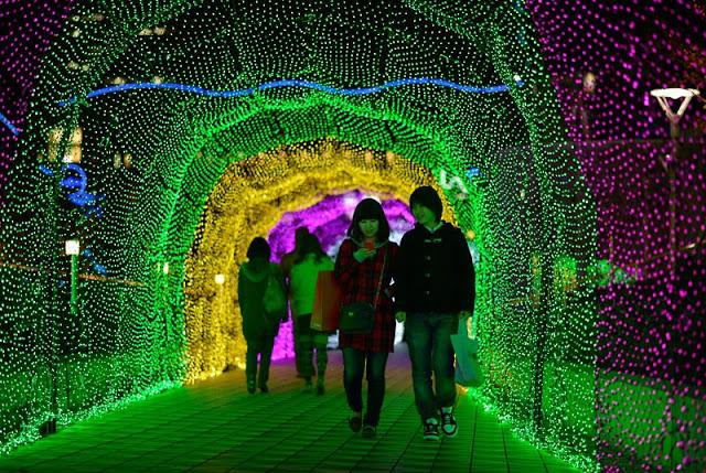 iluminación de invierno en Japón