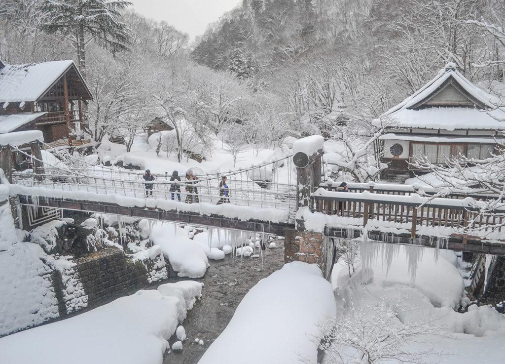 Japón durante el invierno