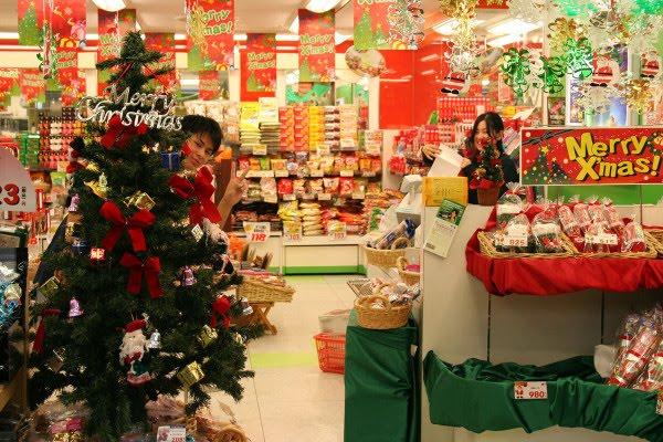 tienda navideña en japon