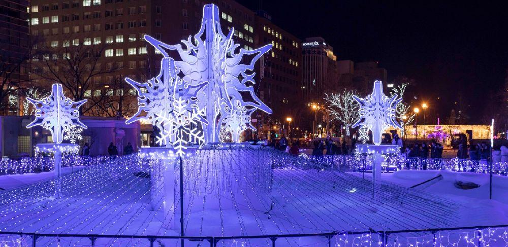 iluminaciones de navidad en Japón