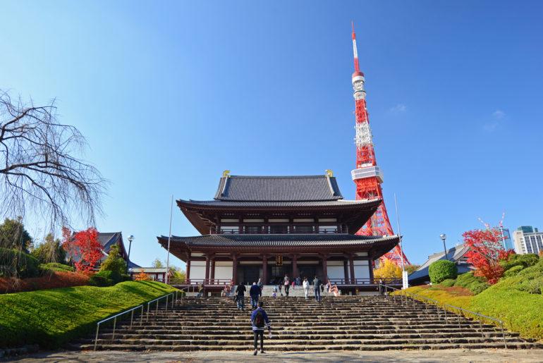 templos y santuarios en Tokio