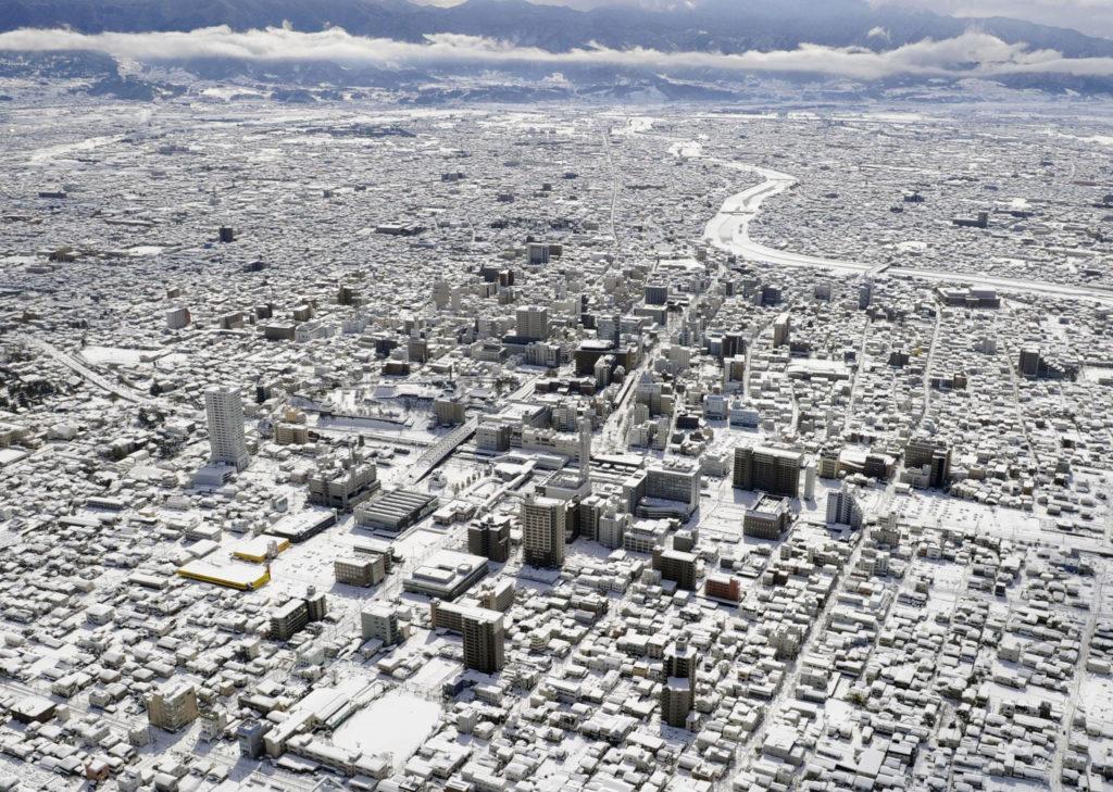 Tokio nevado