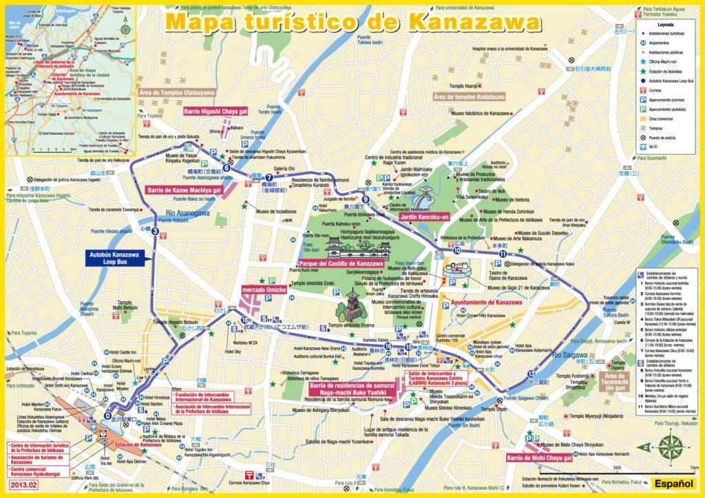 Cómo moverse por Kanazawa