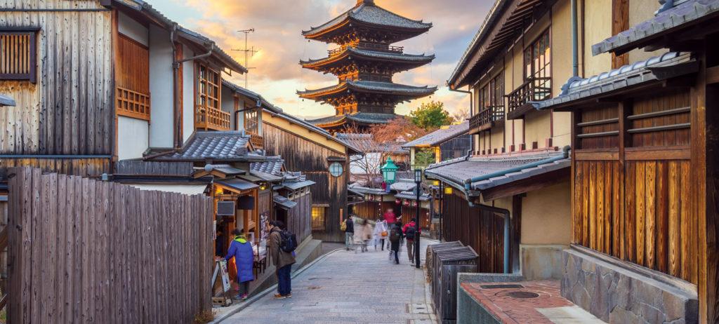 Japones en Kioto