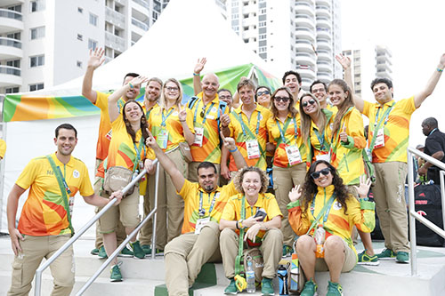 Tokio 2020 voluntarios