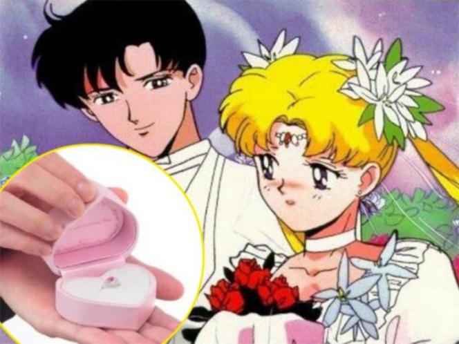 Sailor Moon anillo