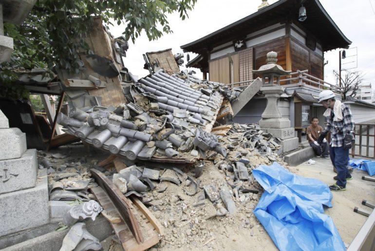 osaka terremoto