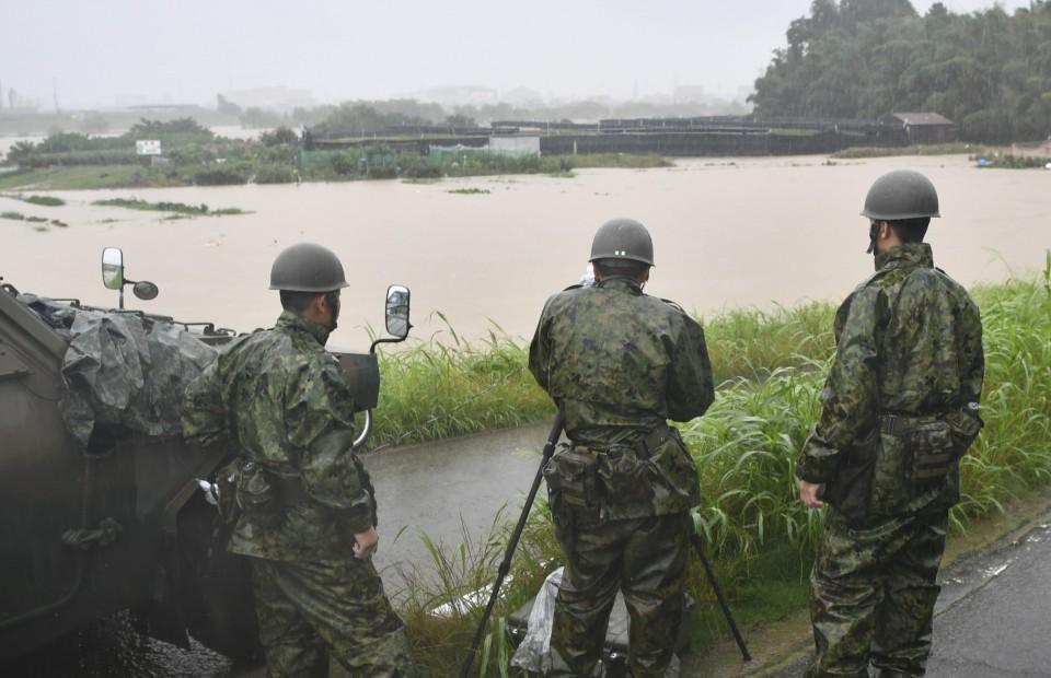 fuerzas de autodefensa de japon