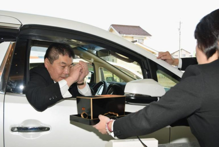 funerales drive-thru en Japón