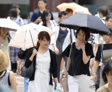 ola de calor en Japón