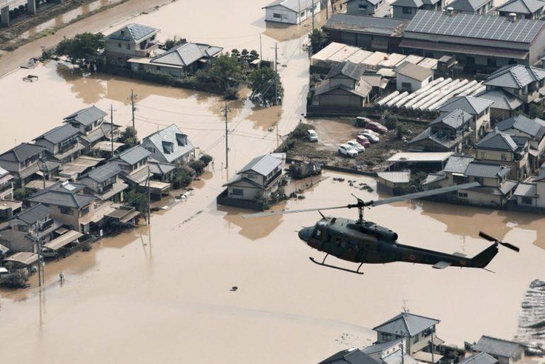 lluvias inundaciones japón