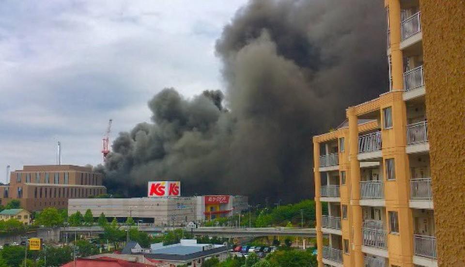 incendio en tokio