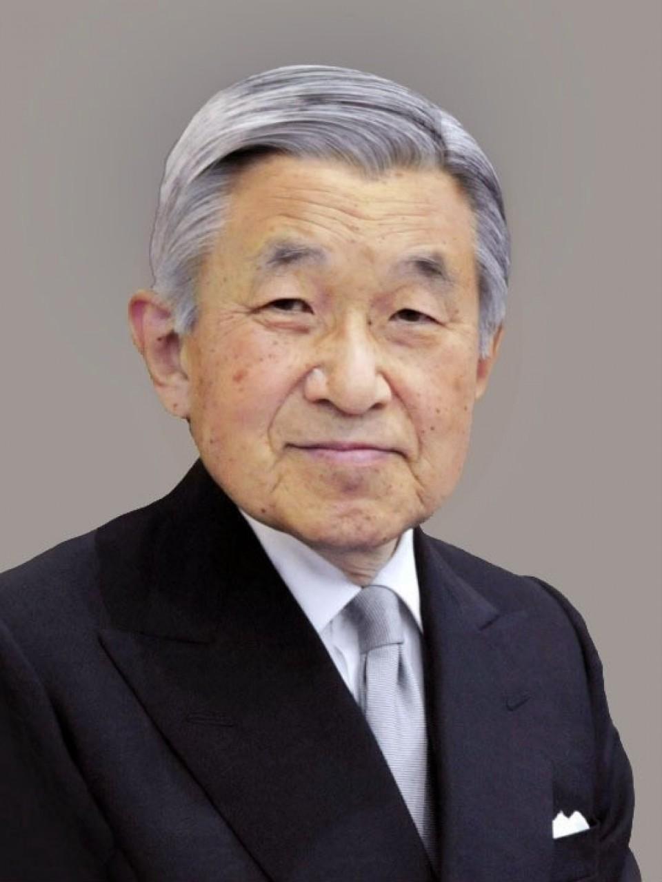 El emperador Akihito sufre una anemia cerebral