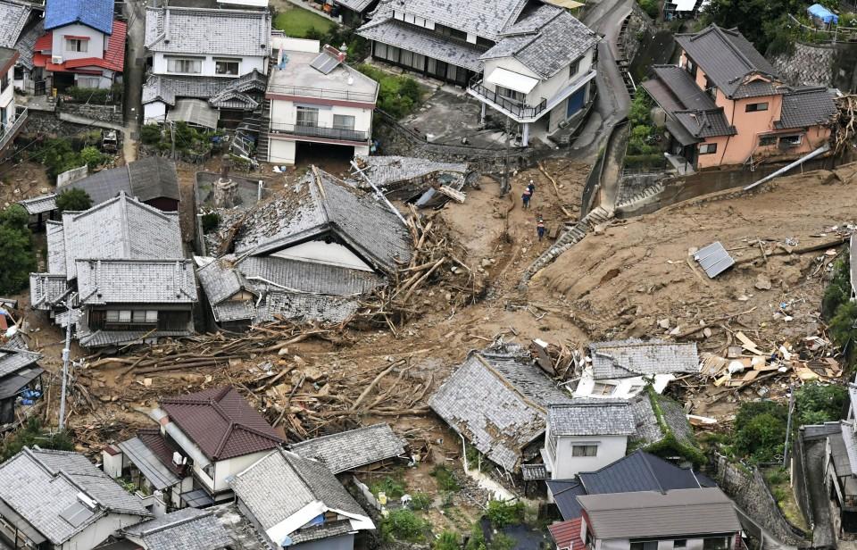 inundaciones en japon 2018