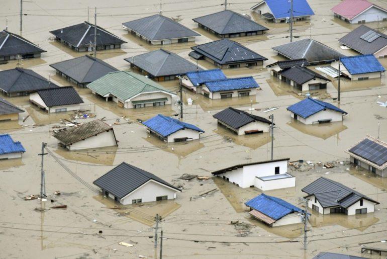 inundaciones en japón