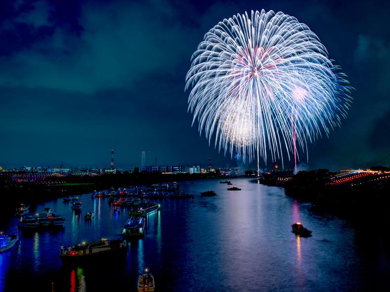 Los 10 Mejores Festivales De Fuegos Artificiales En El Area De Tokio