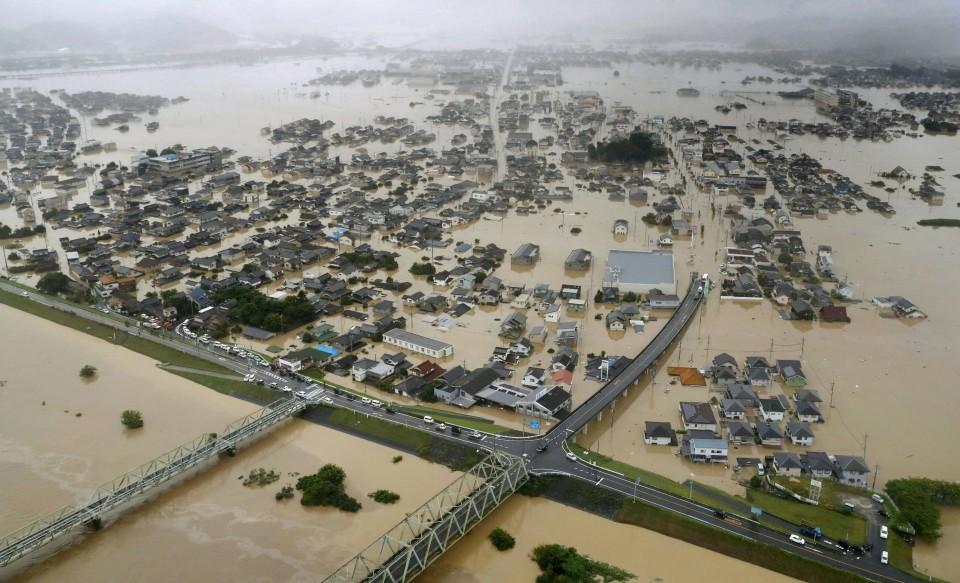 japon inundaciones