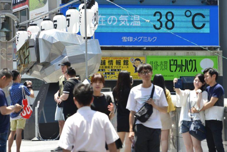 ola de calor japón