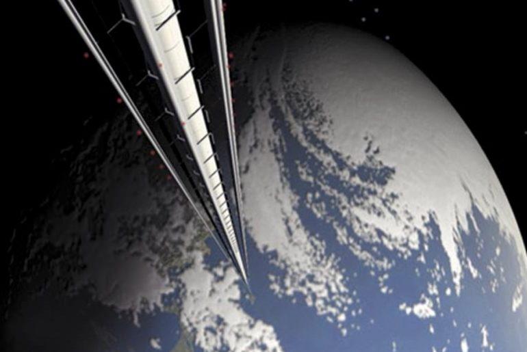 Japón ascensor al espacio