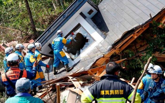 terremoto norte de japón