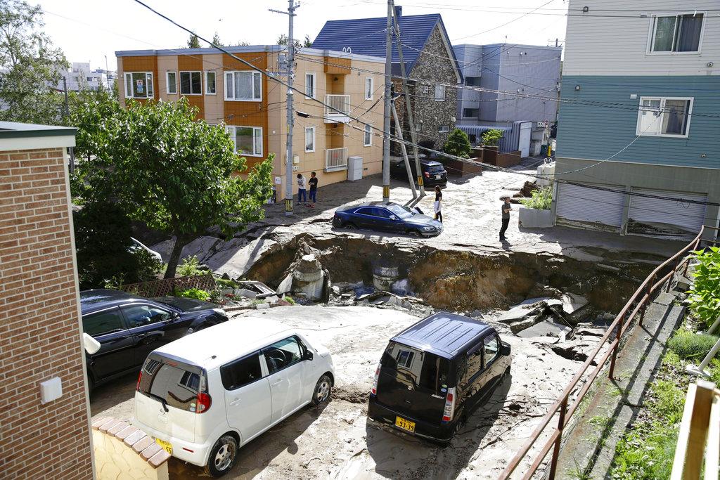 terremoto en el norte de Japón