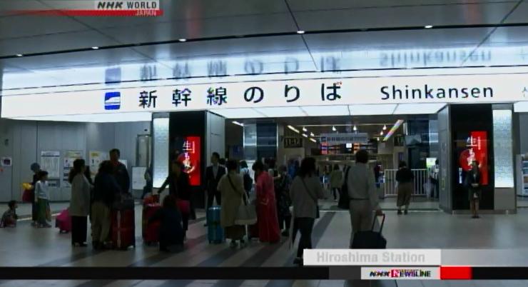 tifon trami cancelaciones shinkansen vuelos