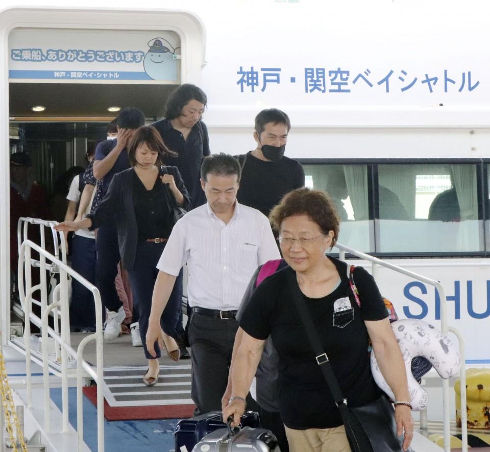 tifón Jebi japón fallecidos