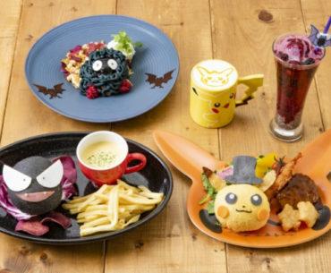 Pokemon Café menu Halloween