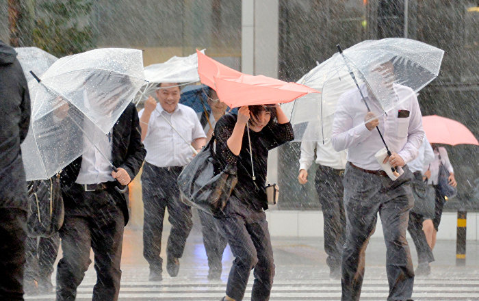 tifón Jebi japón