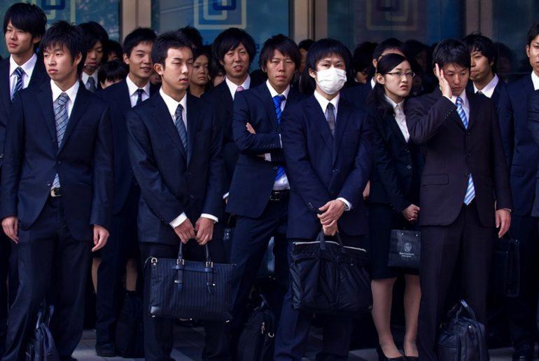 desempleo en Japón