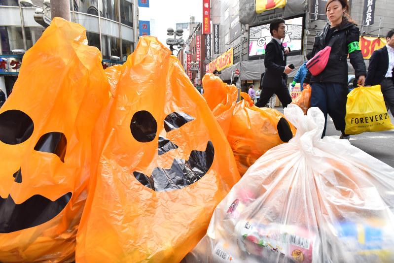 shibuya halloween caos