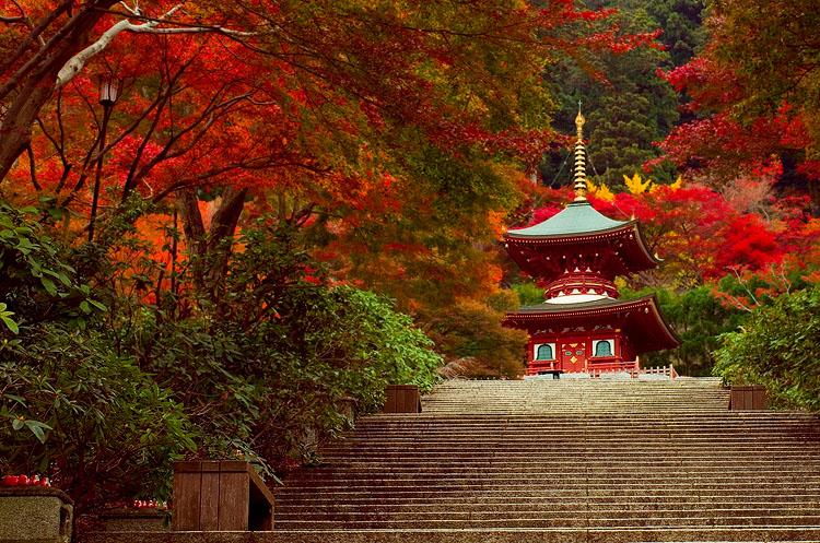 El templo Katsuo-ji
