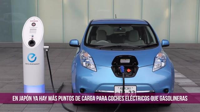 coches eléctricos gasolineras japón