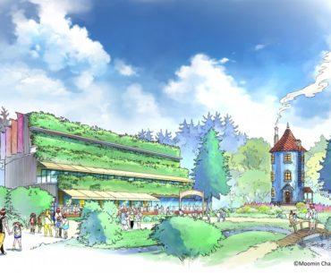 parque temático Moomin tokio
