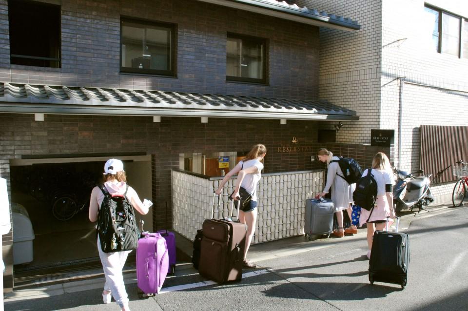 Kioto impuesto alojamiento turistas