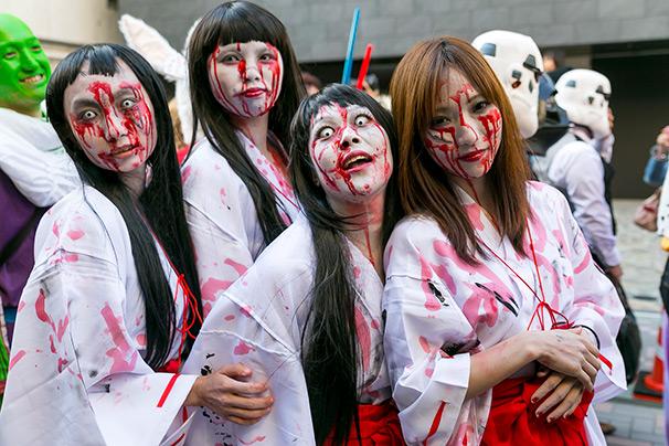 6 sitios donde celebrar halloween en tokio