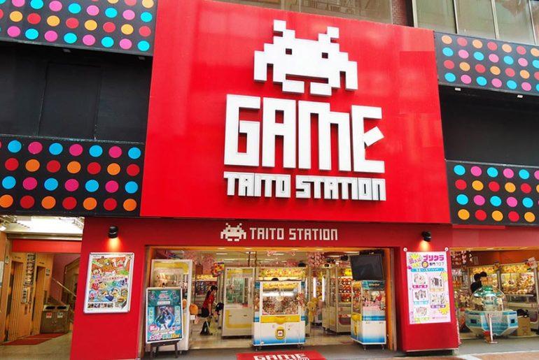 fin de las arcade japón