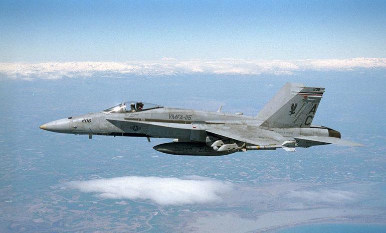 avión militar EE.UU japón