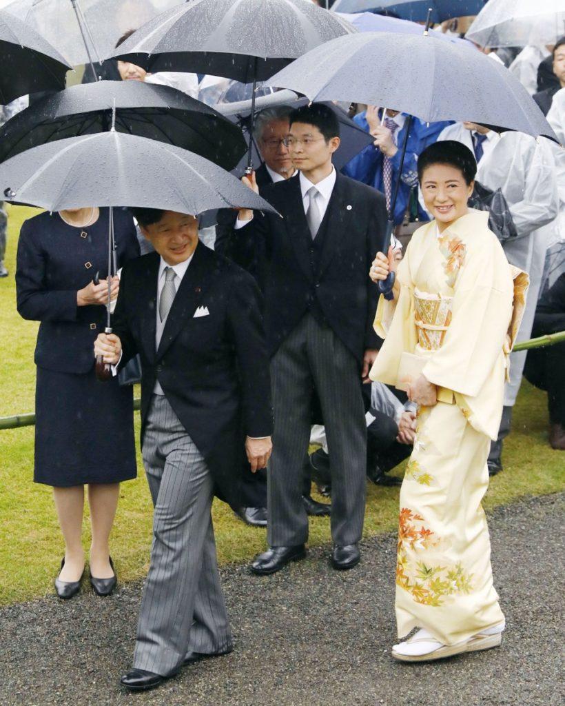 emperador akihito jardín imperial