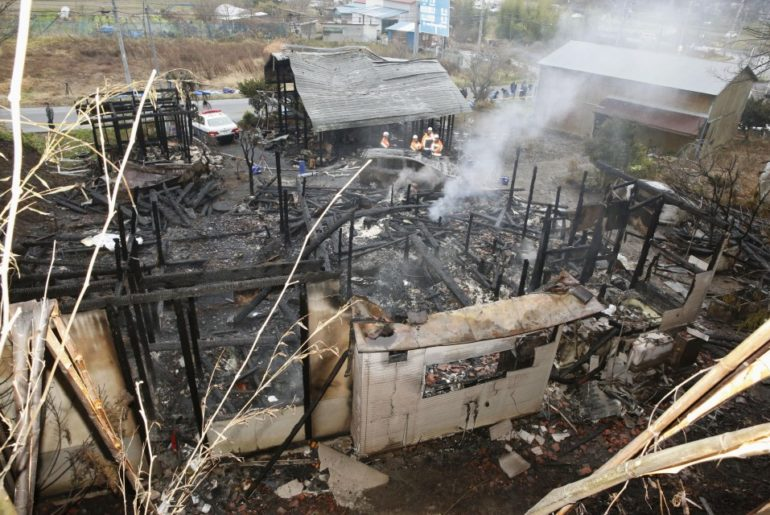 incendio fukushima